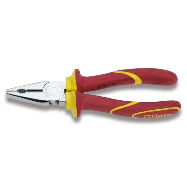Combination pliers, bright chrome-plated