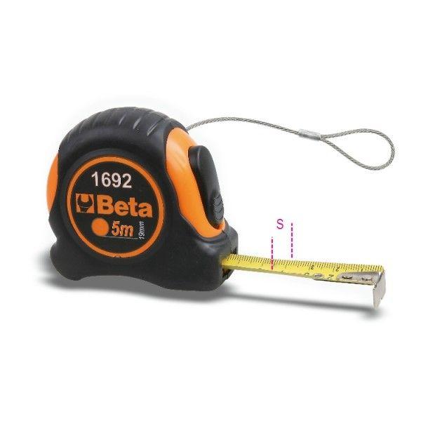 Measuring tapes, shock-resistant bi-material