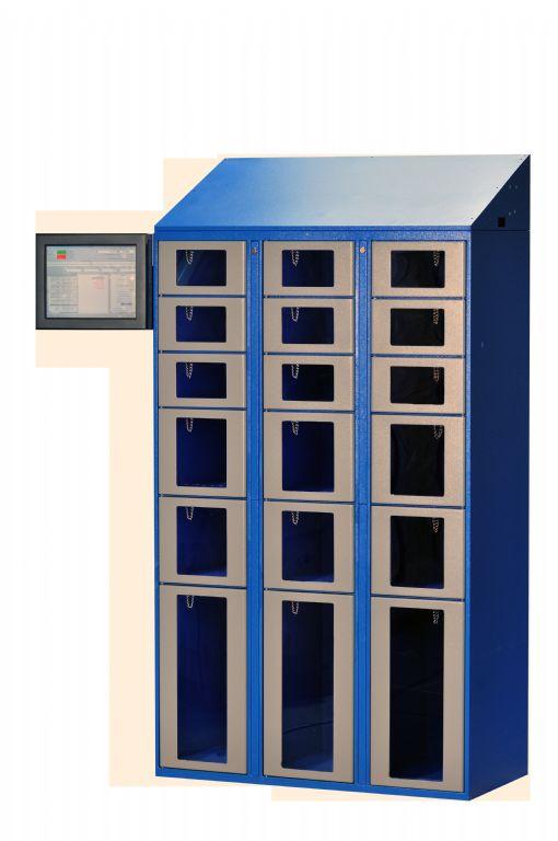 Clear Front Locker