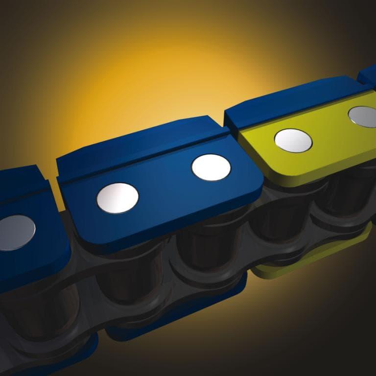 Klik-Top Polymer Block Chain