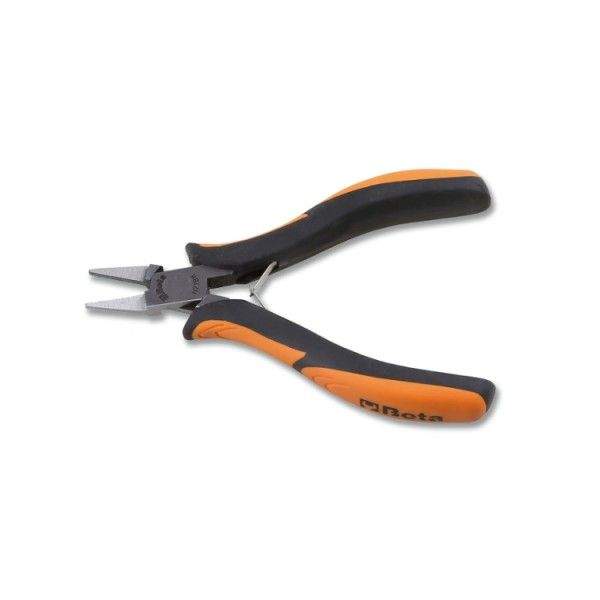 Smooth, flat short nose pliers