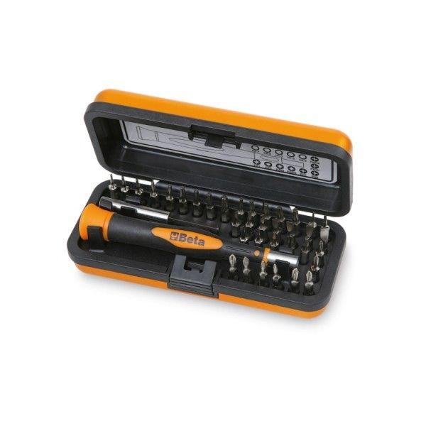 Bi-material microscrewdriver