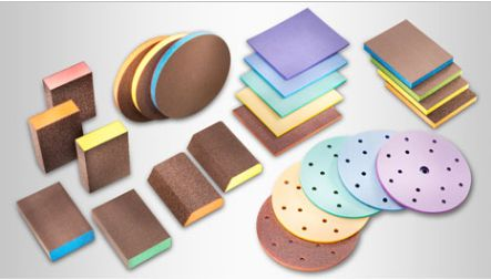 Foam abrasives