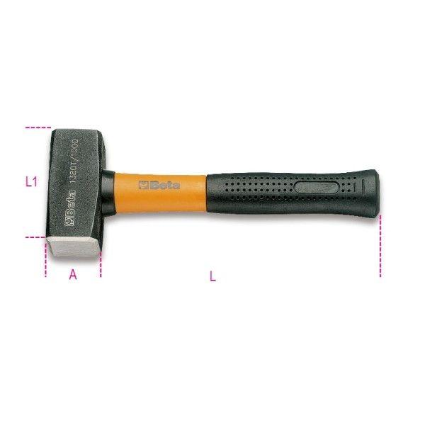 Mason club hammers, fibre shafts