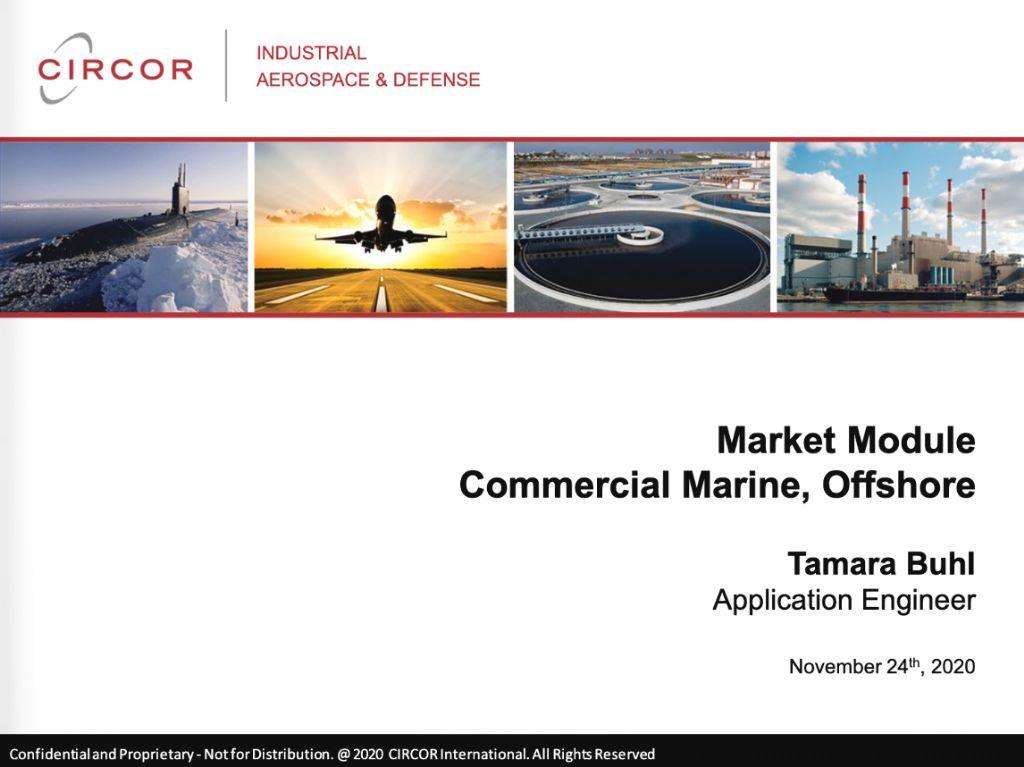 Market Module - Commercial Marine
