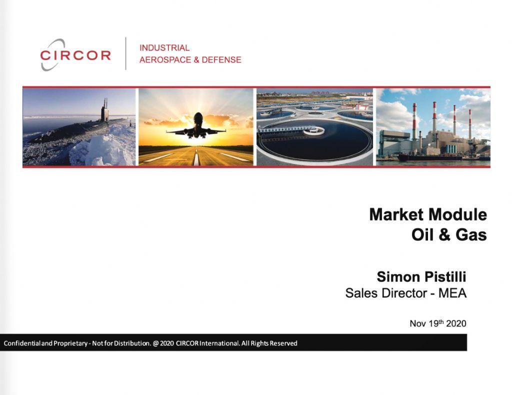 Market Module - Oil & Gas