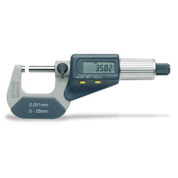 Outside micrometers, reading to 0.001 mm