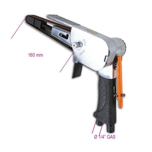 20-mm pneumatic belt sander