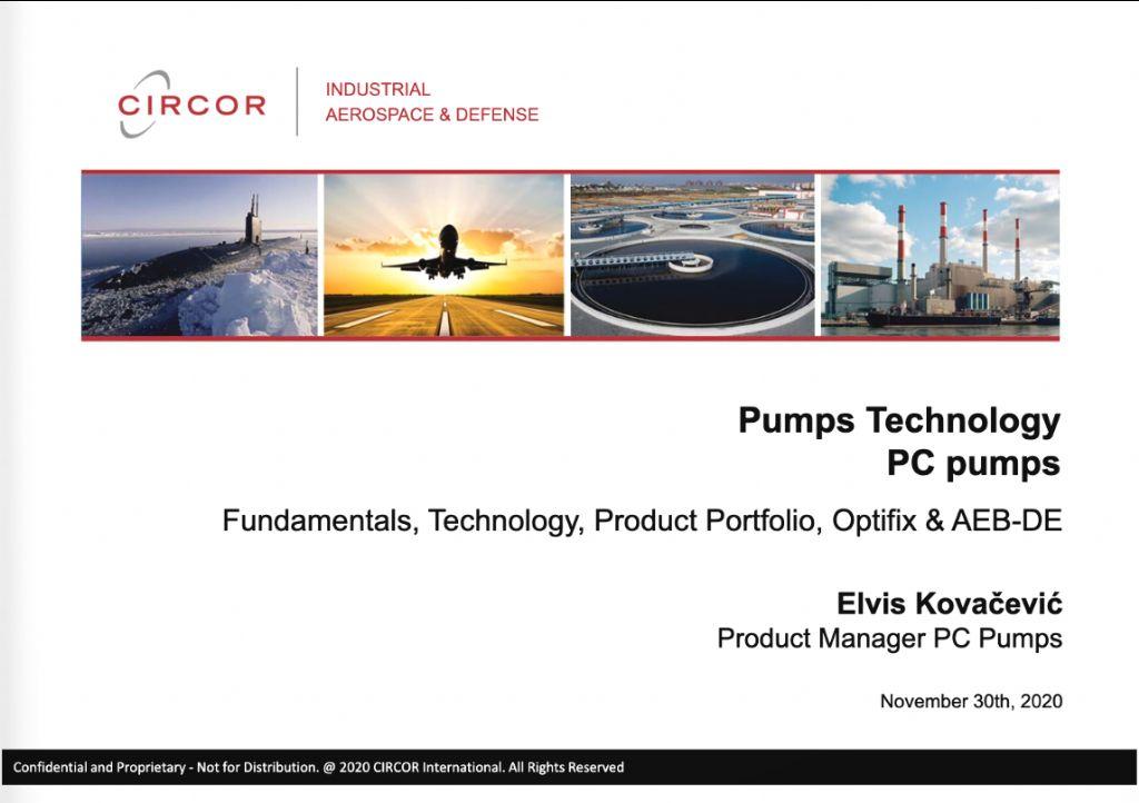 Pumps Technology - PC Pumps