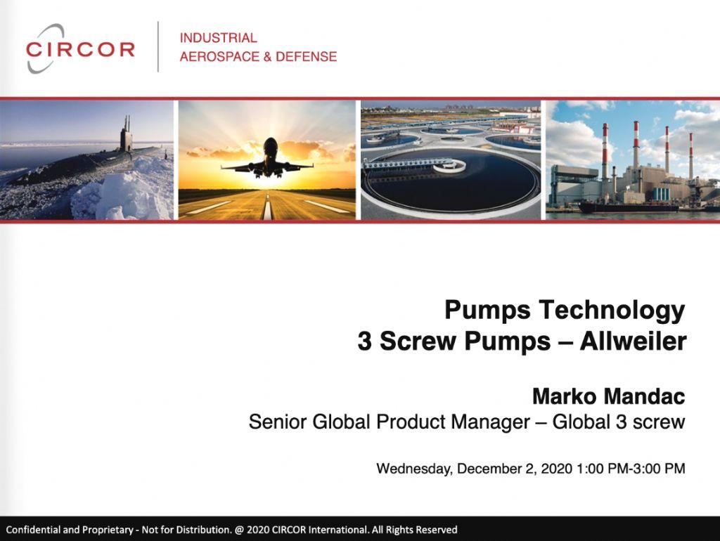 Pumps Technology - 3 Screw Allweiler