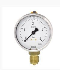 Bourdon tube pressure gauge, copper alloy