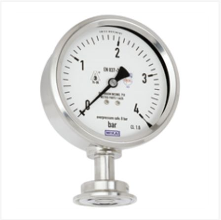 Diaphragm pressure gauge, flush Model PG43SA-S