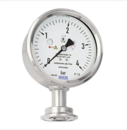 Diaphragm pressure gauge, flushModel PG43SA-D