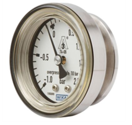 Diaphragm pressure gauge, flush Model PG43SA-C