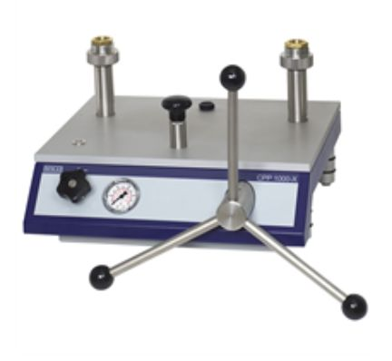 Hydraulic comparison test pump CPP1000-X, CPP1600X