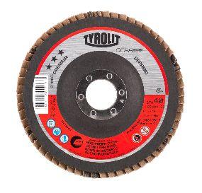 PREMIUM Cerabond flap disc, stainless steel