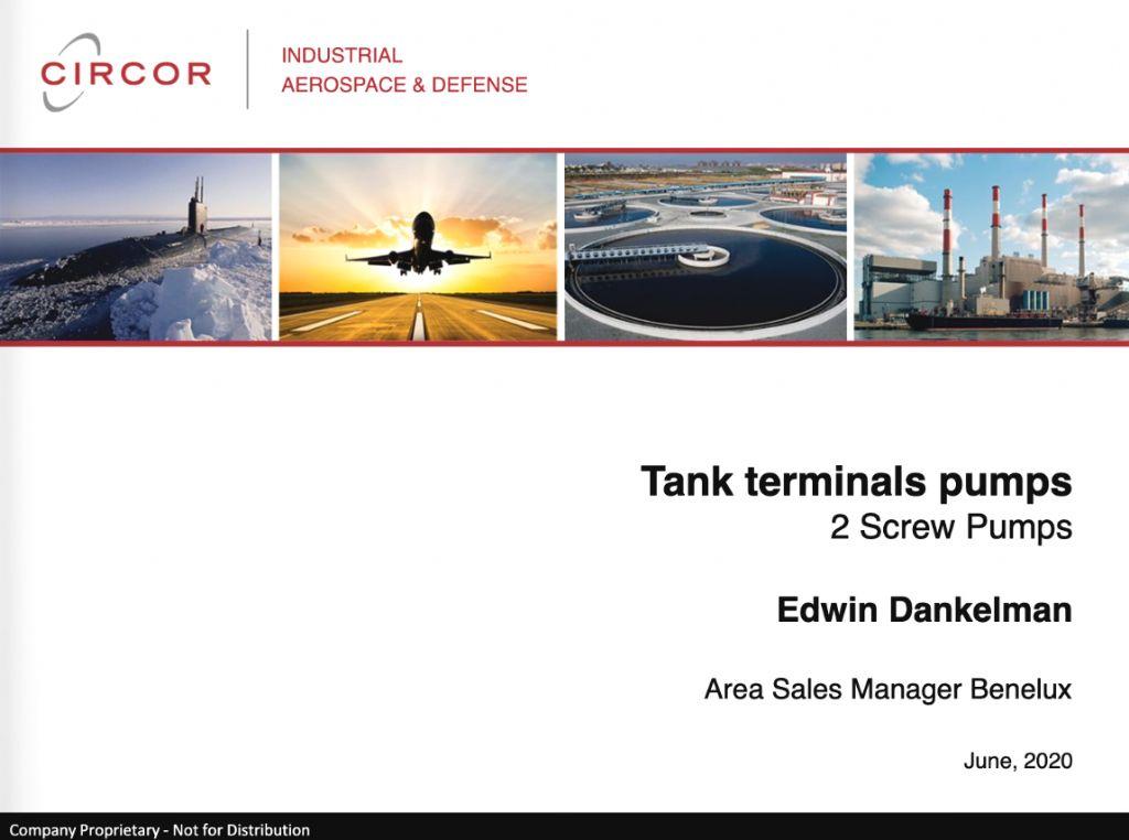 Tank Terminal Pumps