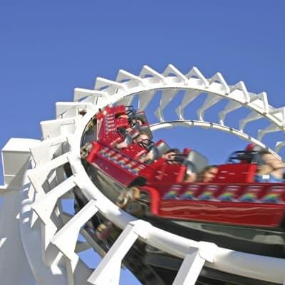 Conveyor Chain for Theme Parks