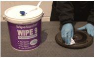 Wipe 9 Isopropyl Alcohol IPA Wet Wipes