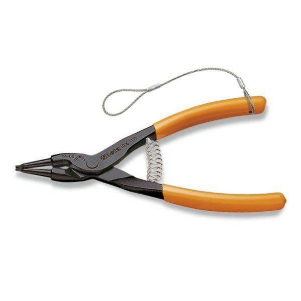 External circlip pliers, straight pattern PVC