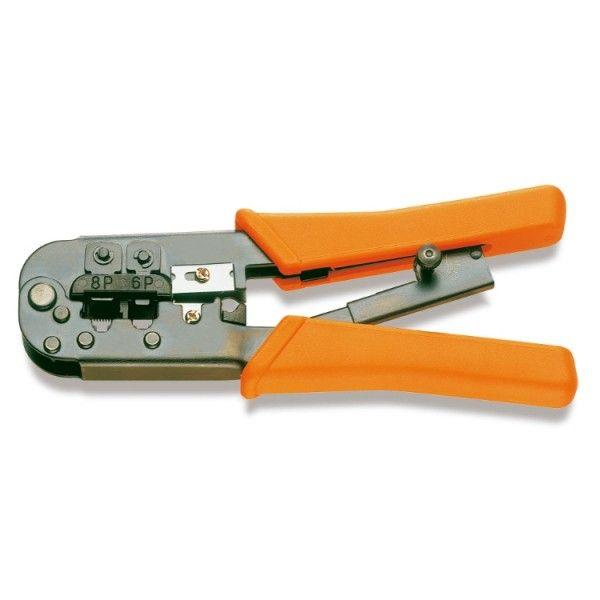 Ratchet crimpling pliers