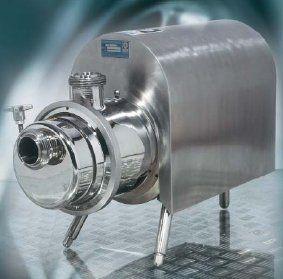 Liquid ring pumps, self-priming