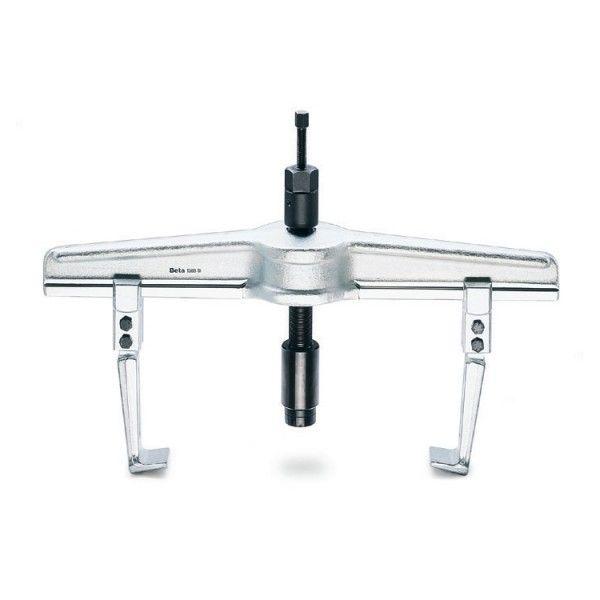 Two-leg hydraulic puller