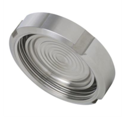 Diaphragm seal with sterile connection