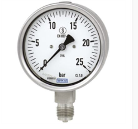 Bourdon tube pressure gauge, Models 232.30, 233.30