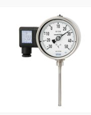 Gas-actuated thermometer