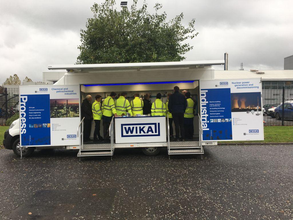 Wika's Demo Van first visit to NI